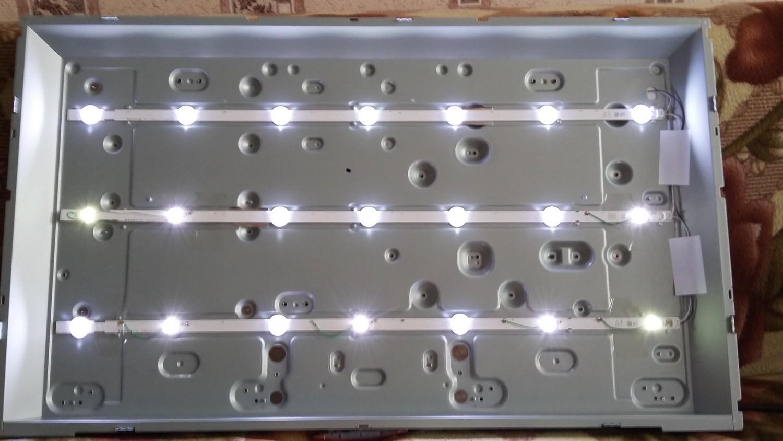 Светодиодная подсветка телевизора ремонт