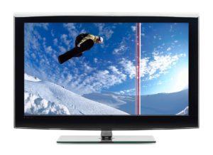 полоса на экране жк телевизора