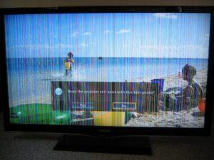 ремонт полосы на телевизоре