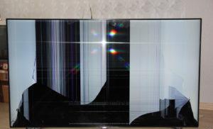 Сломалась матрица в телевизоре Самсунг. Что делать?